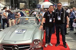 Vintage Ultime notizie Mille Miglia: Chinchero con Maylander sulla Mercedes 300 SL ufficiale!