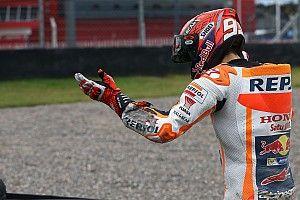 Marquez tak tahu mengapa bisa terjatuh