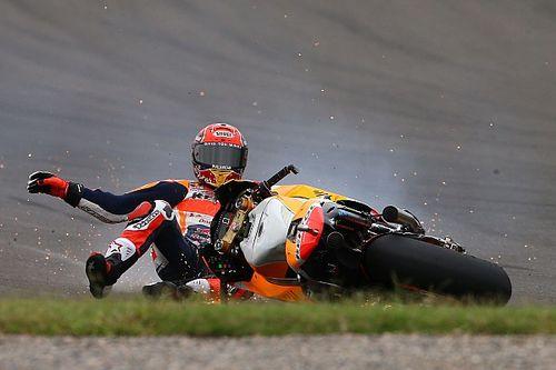 """Marquez unable to explain """"really strange"""" Argentina crash"""