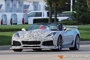 Automotive Nieuws Spyshots: Corvette ZR1 met dikke V8 is in aantocht