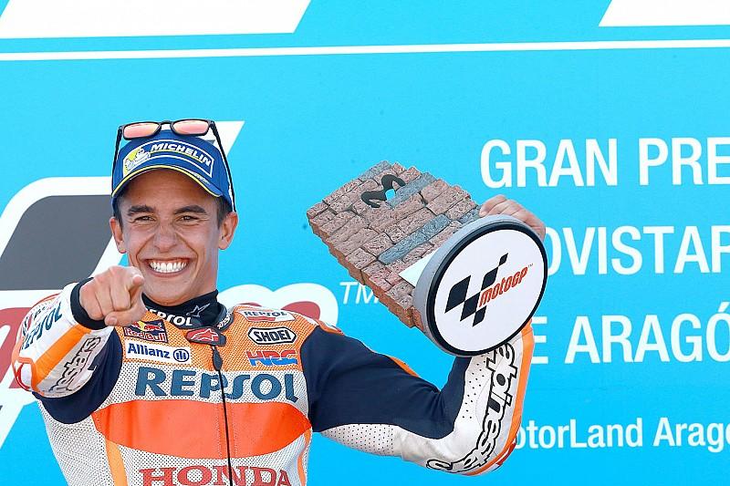 Márquez vira nome de curva em Aragón