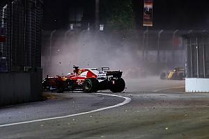 Формула 1 Аналитика Авария Феттеля в Сингапуре: как она повлияет на третий мотор Ferrari?