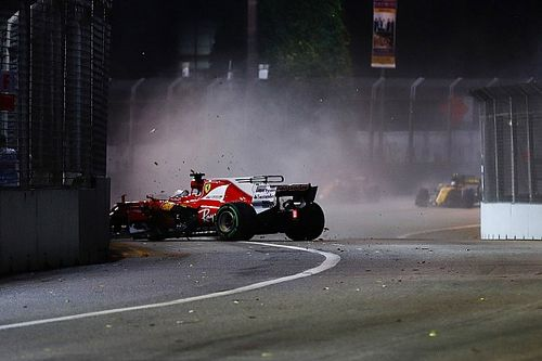 """Lauda et la """"manœuvre très risquée"""" de Vettel à Singapour"""