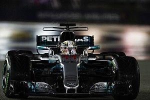 シンガポールGP 決勝速報:ハミルトン、8台リタイアの波乱レースを制す