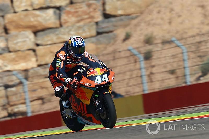Moto2 Aragon: Drama warnai pole kedua Oliveira