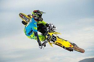 Justin Bogle costretto a fermarsi dopo l'incidente di Anaheim