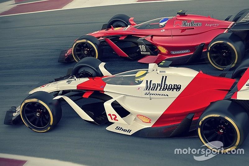 معرض صور: تصاميم سيارات الفورمولا واحد المستقبليّة في 2025