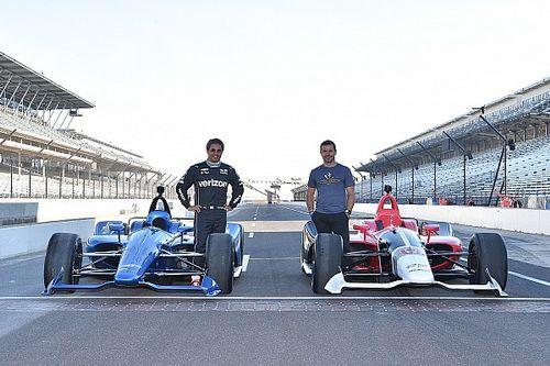 Fotogallery: l'esordio in pista dell'aerokit 2018 IndyCar