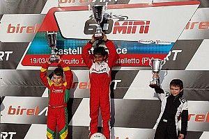 Alva wins on EasyKart debut in Italy