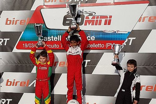 Alva wins on EasyKart debut in Italy