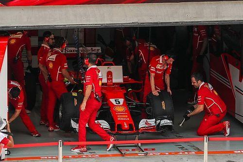Ferrari: Vettel K.O. per un problema fra compressore e motore termico!