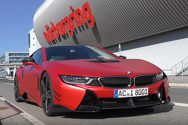 Automotive  AC Schnitzer-tuned BMW i8 laps Nurburgring in 8:19