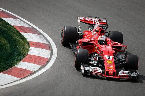 Vettel domina los Libres 3 en Canadá