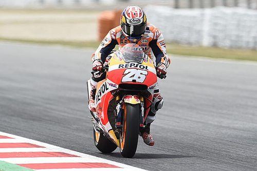 Barcelona MotoGP: Pedrosa on pole, Marquez crashes twice