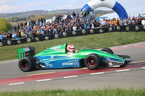 Dans les montées suisses battent leur plein les… Formule 3000 !