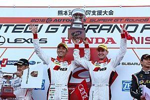 【スーパーGT】藤井誠暢「悔しい気持ちを引きずってきた。ようやく優勝できて嬉しい」