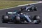 Lo principal para Mercedes es mejorar la carga aerodinámica, dice Bottas