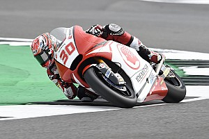 Moto2 Race report Silverstone Moto2: Nakagami scores win as Marquez crashes