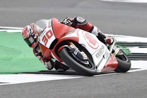 Silverstone Moto2: Nakagami scores win as Marquez crashes