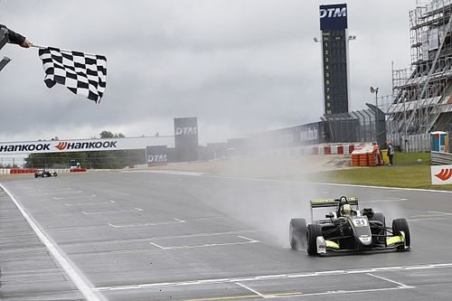 Nurburgring F3: Norris wins wet Race 1 by 17 seconds