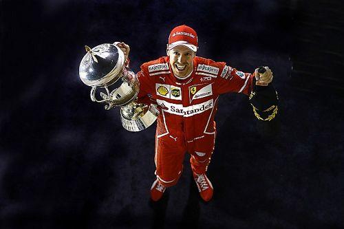 Bildergalerie: Die schönsten Fotos vom Vettel-Ferrari-Sieg in Bahrain