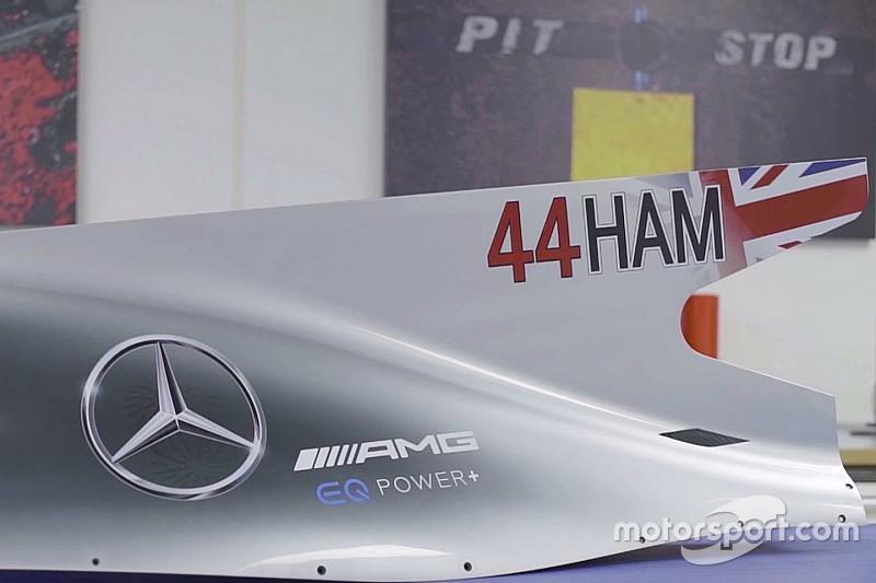 Formel 1 2017: So sehen die größeren Startnummern bei Mercedes aus