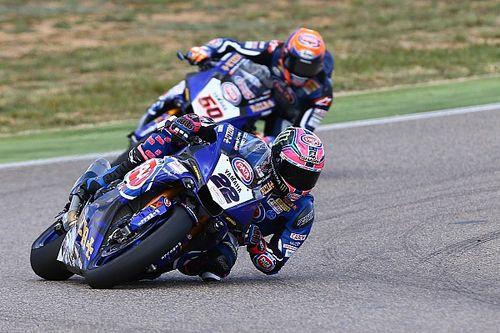 Yamaha visera le podium à Assen