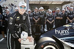 IndyCar Reporte de calificación Con récord de pista, Josef Newgarden gana la pole en Sonoma