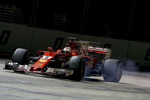 Vettel Singapur polüyle rahatladı