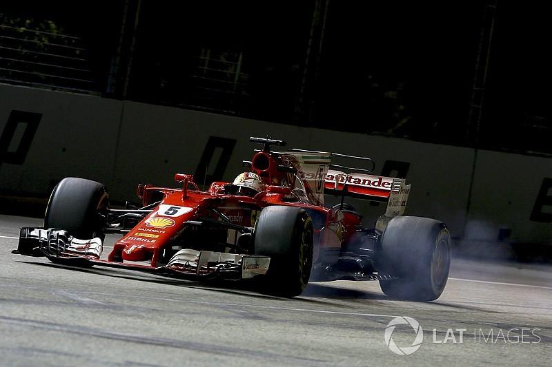 Ferrari: Vettel ha colpito in modo micidiale solo quando è servito