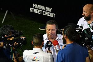 Brown: Motor için Mercedes'le görüştük, Ferrari ile hiç konuşmadık