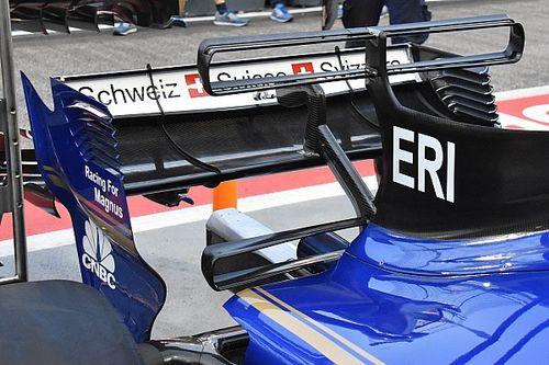 Sauber: quante novità sulla C36 oltre alla doppia T-wing!