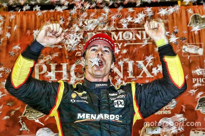 Simon Pagenaud domina  y vence en Phoenix