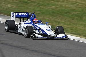 Indy Lights Reporte de calificación Herta logra la pole para la segunda en Road América y Urrutia en quinto