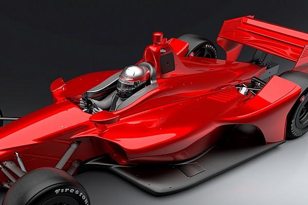 IndyCar Nieuws IndyCar toont nieuwe beelden van de 2018-bolide