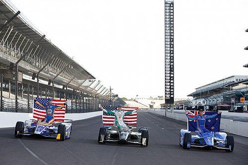 Grid start balapan Indianapolis 500 2017