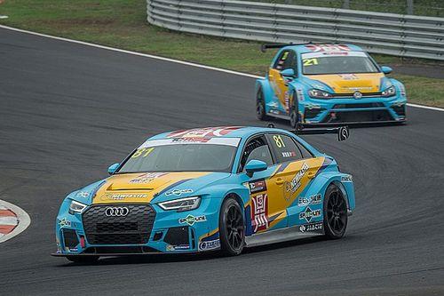 China: Huang Chu Han vince con l'Audi Gara 3 a Zhejiang