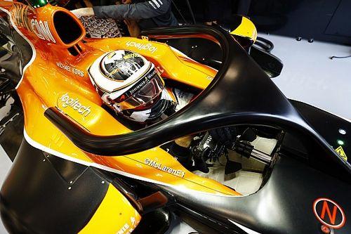 McLaren: si studia l'influenza dell'Halo sull'ala posteriore