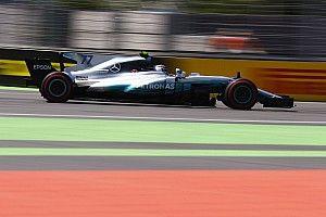 阿塞拜疆大奖赛排位赛:汉密尔顿首次巴库摘杆位