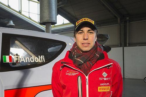 Test a Lecco per Andolfi in vista del debutto con Motorsport Italia in Corsica