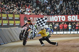 Other bike Race report Marquez wins second Superprestigio Dirt Track title