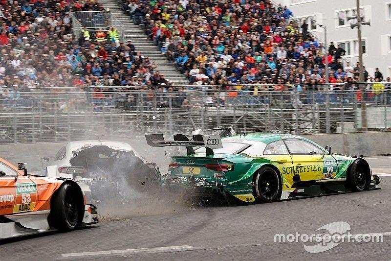 Video: Mercedes revela que Paffett sufrió un impacto de 38 fuerzas G con Rockenfeller