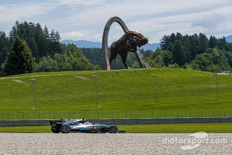 بالصور: ترتيب شبكة انطلاق سباق جائزة النمسا الكبرى