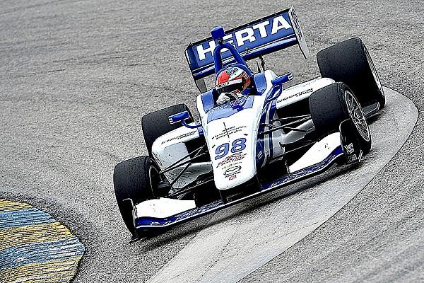Indy Lights Colton Herta termine les derniers essais Indy Lights en tête