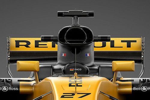 图集:雷诺RS17赛车细节一览