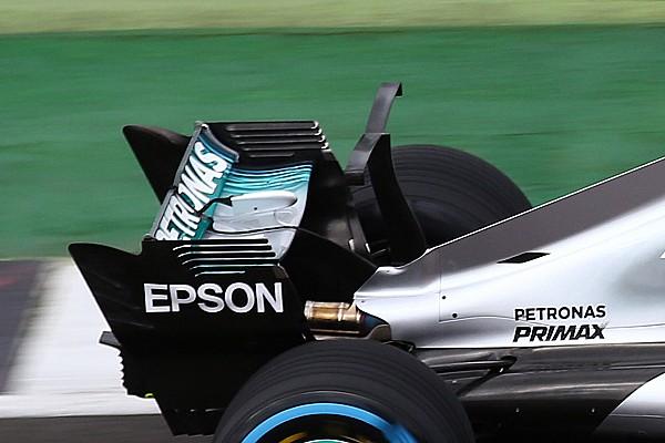 Formel 1 News Formel 1 2017: Mercedes testet neues Winglet am W08
