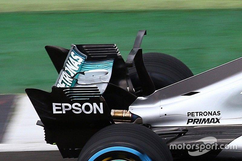 Mercedes belum yakin gunakan sirip hiu usai menguji coba sayap-T