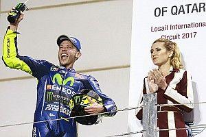 """Rossi: """"Este podio se lo dedico a los que dicen que soy muy viejo"""""""