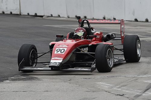 Toronto USF2000: Thompson scores Exclusive Autosport's first win