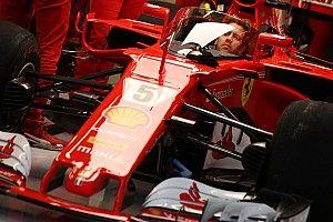 """【F1】ベッテル、金曜FPで""""シールド""""をテスト「実際には初めて見る」"""